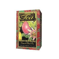 Save $$---6 Boxes of PASSION FRUIT NA PALI Black Tea---20 tea bags per box---Makes a GREAT gift