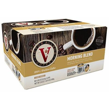 Victor Allen Coffee, Morning Blend, 80 Count (Compatible with 2.0 Keurig Brewers)
