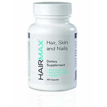 HairMax For Hair, Skin and Nails Dietary Supplement, 60 Count