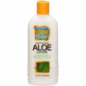Ocean potion Moisturizing aloe lotion 8.5oz (pack of 2)