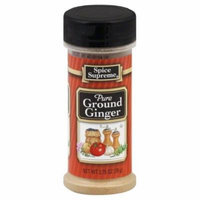 Spice Supreme Ginger, Ground, 2.75-Oz (Pack of 12)