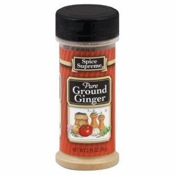 Spice Supreme Ginger, Ground, 2.75-Oz (Pack of 12)
