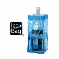 Portable Ice Bag - Blue, Set of 4