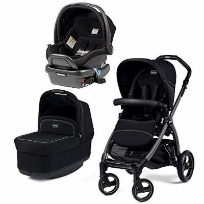 Peg Perego Book Pop Stroller with Peg Perego Primo Viaggio 4/35 Infant Car Seat (Onyx)