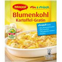 Maggi Fix & Fresh Cauliflower Potatoe Gratin (Blumenkohl Kartoffel-Gratin) (Pack of 4)
