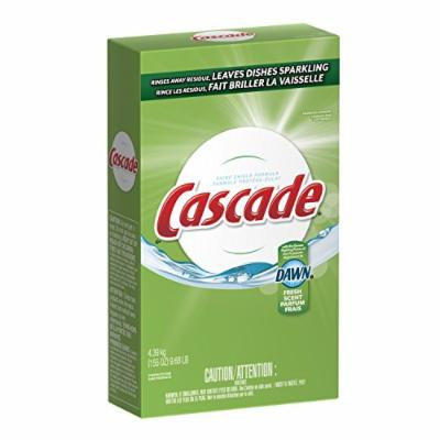 Cascade Powder Dishwasher Detergent, Fresh Scent 155 Oz