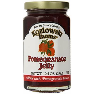 Kozlowski Farms Jelly, Pomegranate, 10.5-Ounce (Pack of 6)