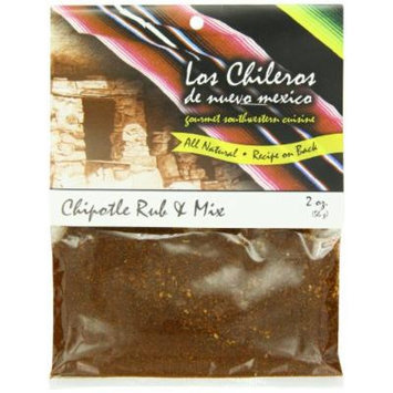 Los Chileros Chipotle Rub and Mix, 2 Ounce