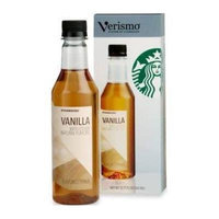 Starbucks Vanilla Verismo System Flavored Syrup 12.17 Fl Oz.