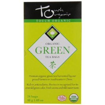 Touch Organic Green Tea, 24 Count, 1.69-Ounce Boxes (Pack of 6)