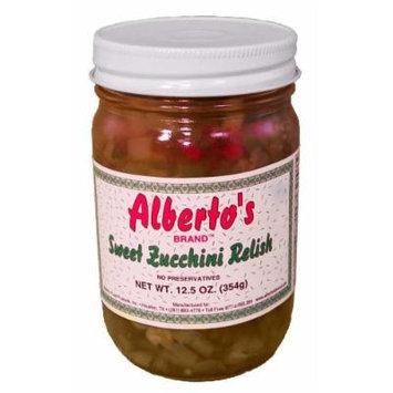 Alberto's Sweet Zucchini Relish-12.5 oz.
