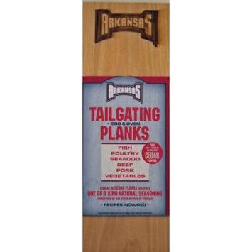Chef Locke University of Arkansas TailGating BBQ Plank