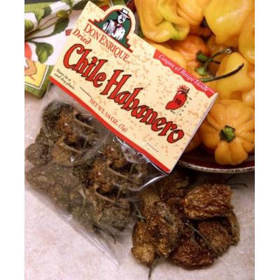 Melissa's Dried Habanero Chiles, 3 Bags (1/4 oz)