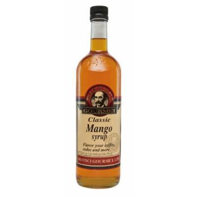 DaVinci Gourmet Classic Flavored Syrups Mango 750 mL