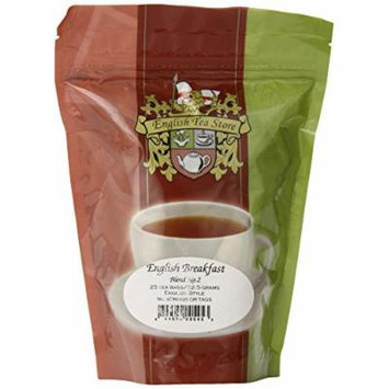 English Tea Store English Breakfast Teabags Blend Number Two, 25 Count