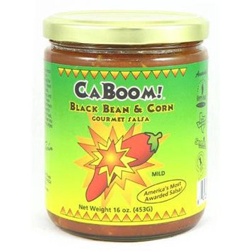 CaJohn's Black Bean & Corn Gourmet Salsa
