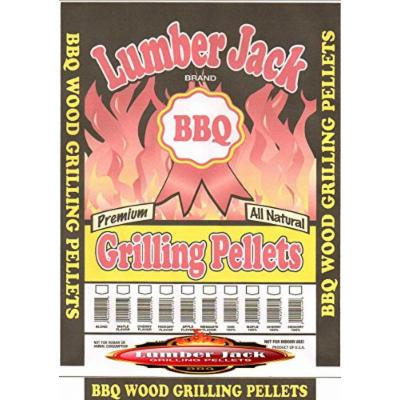 Lumber Jack Maple Hickory Cherry BBQ Grilling Pellets 20 LB Bag