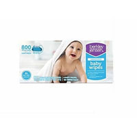 Berkley Jensen Unscented Baby Wipes, 800 Count