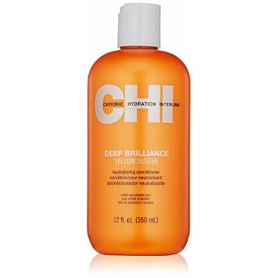 CHI Deep Brilliance Yellow Buster Conditioner, 12 fl. oz.