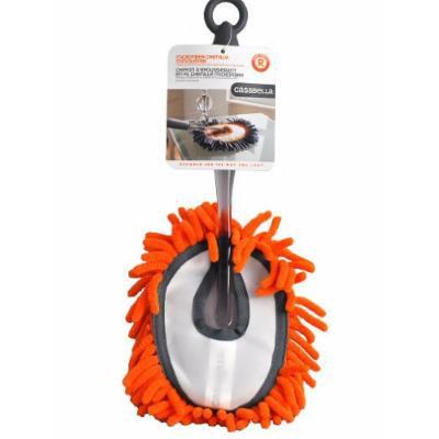 Casabella Microfiber Chenille Mini Duster Orange