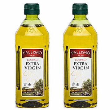 Palermo First Cold Pressed Extra Virgin Olive Oil 16 Oz (2 Pack)
