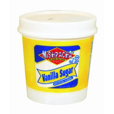 MISHPACHA Vanilla Sugar Cup, 12-Ounce Tubs (Pack of 6)