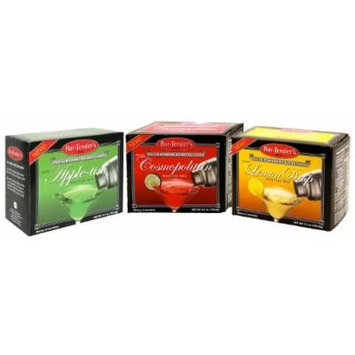 Bar-Tender's Martini Cocktail Drink Mixes 6 ct (Assorted 3 pack)