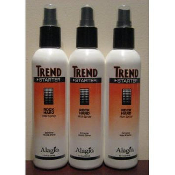 Alagio Trend Strater Rock Hard Hair Spray 8.5 Oz (3 Pack)