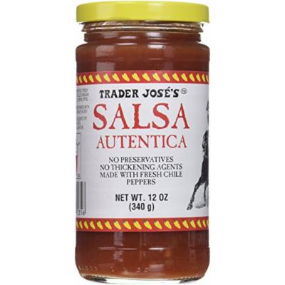 Salsa Autentica 2x12 Oz Bottles Trader Joes