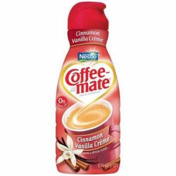 Coffee-mate Cinnamon Vanilla Coffee Creamer, 32 Oz, 2 Pack