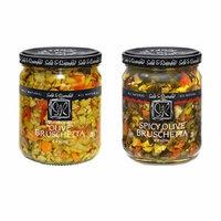 Sable & Rosenfeld Olive Bruschetta - Earth Kosher - Bruschetta Variety - 2 Pack (16 oz each)