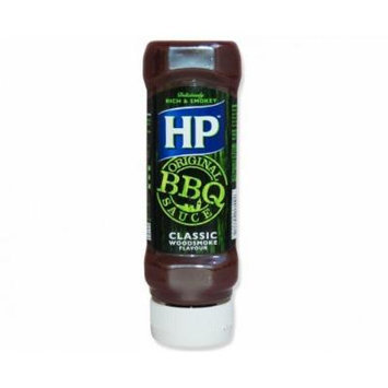 HP Original BBQ Sauce Classic Woodsmoke flavor : BRITISH IMPORT