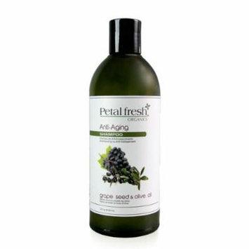 Bio Creative Lab Petal Fresh Organics Shampoo, Grape Seed and Olive Oil, 16 Fluid Ounce
