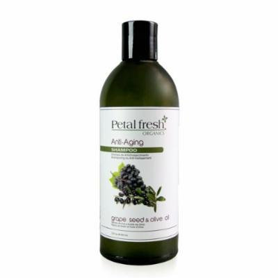 Bio Creative Lab Petal Fresh Organics Shampoo, Grape Seed and Olive Oil, 16 Fluid Ounce