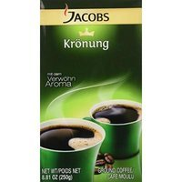 Jacobs Kronung Coffee, 8.81-ounce Vacuum Packs (Pack of 6)