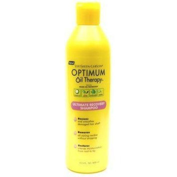 Optimum Oil Therapy Shampoo Ultimate Recovery 13.5 oz. (3-Pack) with Free Nail File