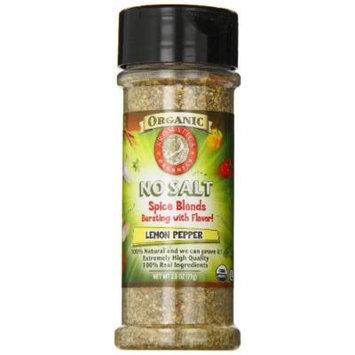 Aromatica Organics Salt Free Lemon Pepper, 2.5-Ounce