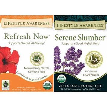 Lifestyle Awareness - Serene Slumber and Refresh Now (2 Pack)