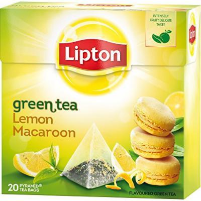 Lipton - Green Tea Lemon Macaroon - Premium Pyramid Tea Bags