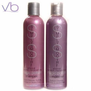 Simply Smooth Xtend Keratin Repairative Shampoo 8.5oz and Conditioner 8.5oz