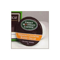 Green Mountain Coffee Vermont Country Blend DECAF 48 K-Cup Count