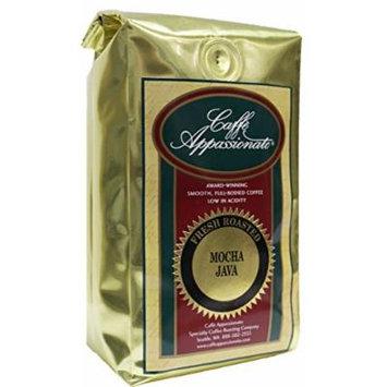 Caffe Appassionato Mocha Java Ground Coffee, 12-Ounce Bag (Pack of 3)