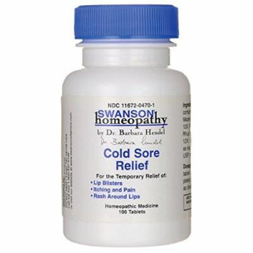 Swanson Cold Sore Relief 100 Tabs