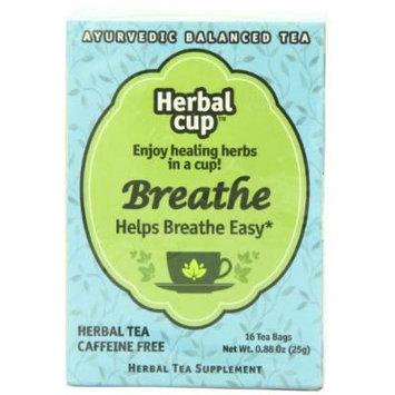 Herbal Cup Herbal Tea, Breathe, 16 Tea Bags