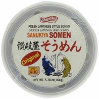 Shirakiku Somen Cup Nama Instant Original, 5.78-Ounce Units (Pack of 6)