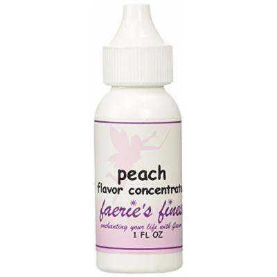 Faeries Finest Flavor Drops, Peach, 1 FL OZ