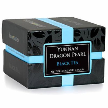 Dragon Pearl ~ Black Tea ~ Fresh Loose Leaf From Yunnan ~ Connoisseur Collection Immortalitea ~ 100 Grams