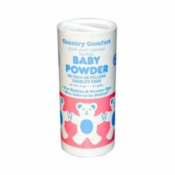 New - Country Comfort Baby Powder - 3 oz