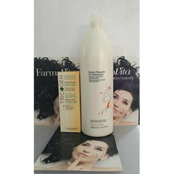 Tricogen 100ml Plus Hydro Repair Shampoo 1000ml - 3.38fl. Oz