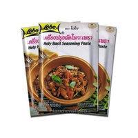 Lobo Holy Basil Seasoning Paste 1.76 Oz. (Pack of 3)